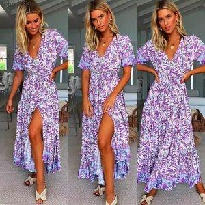 💜New Arrival💜 Purple Floral Maxi Dress